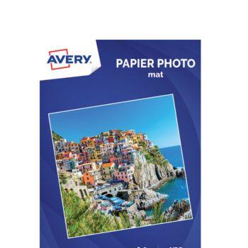Avery 20 Photos mates A4 170g/m²