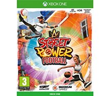 Jeu Xbox One Just For Games  STREET POWER FOOTBALL XONE VF