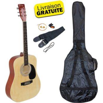 Johnny Brooks Kit Guitare Acoustique Johnny Brook JB30