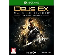 Jeu Xbox One Koch Media Deus Ex Mankind Divided - Day One Ed.