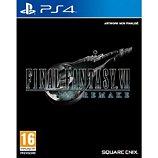 Jeu PS4 Square Enix Final Fantasy VII Remake