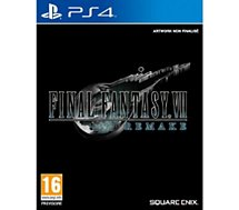 Jeu PS4 Square Enix  Final Fantasy VII Remake