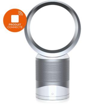 dyson cool purifier desk fan white silver purificateur d. Black Bedroom Furniture Sets. Home Design Ideas