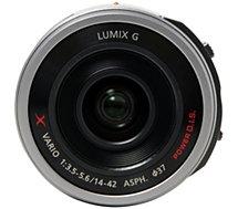 Objectif pour Hybride Panasonic 14-42mm F3.5-5.6 PZ Silver Lumix G