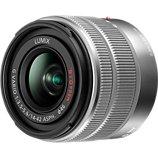 Objectif pour Hybride Panasonic  14-42mm f3.5-5.6 II silver Lumix G Vario