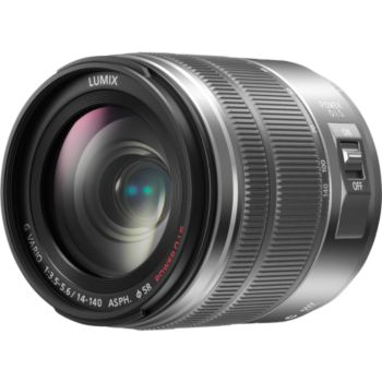 Panasonic 14-140mm f/3.5-5.6 OIS silver G Vario 				 			 			 			 				reconditionné