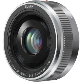 Panasonic 20mm f/1.7 II silver Lumix G