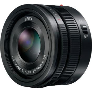 Panasonic 15mm f/1.7 noir Leica DG Summilux