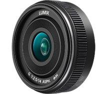 Objectif pour Hybride Panasonic  14mm noir F2.5 ASPH.