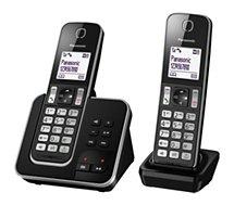 Téléphone sans fil Panasonic  KX-TGD322FRB