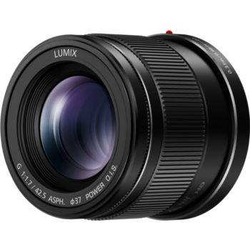 Panasonic 42,5mm f/1.7 noir Power OIS Lumix G