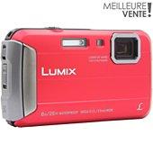 Appareil photo Compact Panasonic DMC-FT30 rouge