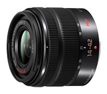 Objectif pour Hybride Panasonic 14-42mm f3.5-5.6 II noir Lumix G Vario