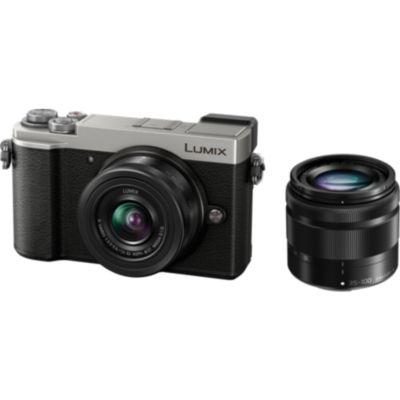 Location Appareil photo Hybride Panasonic DC-GX9 Silver + 12-32mm + 35-100mm