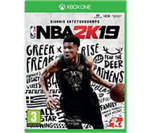 Jeu Xbox One Take 2 NBA 2K19