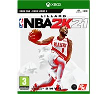 Jeu Xbox One Take 2  NBA 2K21 STANDARD X