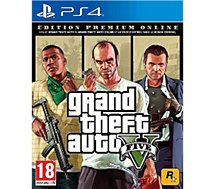 Jeu PS4 Rockstar Games  GTA V Edition Premium