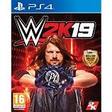 Jeu PS4 Take 2 WWE 2K19