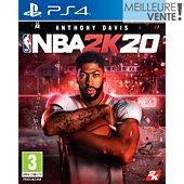 Jeu PS4 Take 2 NBA 2K20