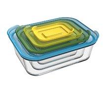 Boîte hermétique Joseph Joseph  de conservation Nest Glass Storage