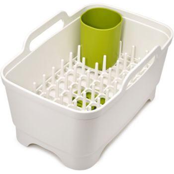 Joseph Joseph à vaisselle Wash&Drain Plus Blanc/Vert