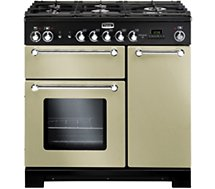 Piano de cuisson mixte Falcon  KITCHENER 90 MIXTE CREME CHROME
