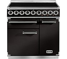 Piano de cuisson induction Falcon  PKR 900 DELUXE INDUCTION NOIR CHROME