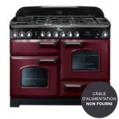 Piano de cuisson mixte Falcon DELUX110 MIXT ROUGE/CHROME