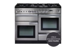 Piano de cuisson mixte Falcon PROFESSIONAL + 110 MIXTE INOX/CHROME