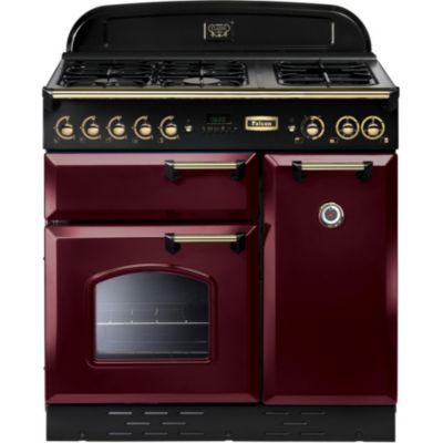 Piano de cuisson falcon boulanger - Piano de cuisson rouge ...