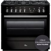 Piano de cuisson mixte Falcon PROFESSIONAL+90 FX MIXT NOIR BRILLANT
