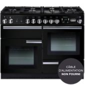 Piano de cuisson mixte Falcon PROFESSIONAL + 110 MIXTE NOIR CHROME