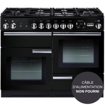 Falcon Professional 110 Mixte Noir Chrome Piano De Cuisson