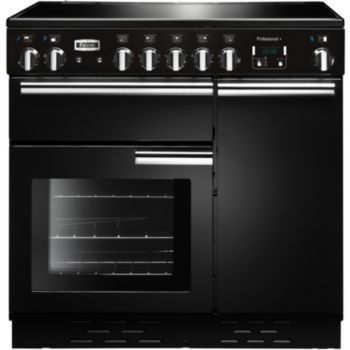 falcon professional 90 induc noir brillant piano de cuisson boulanger. Black Bedroom Furniture Sets. Home Design Ideas
