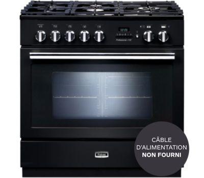 Cuisinière mixte Falcon PROFESSIONAL +FXP 90 Mixte NOIR BRILLANT