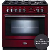 Piano de cuisson mixte Falcon PROFESSIONAL + FXP 90 DF ROUGE AIRELLE