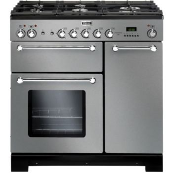 Falcon kitchener 90 mixte inox chrome piano de cuisson boulanger - Falcon kitchener 90 inox ...
