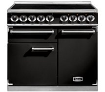 Piano de cuisson induction Falcon  PKR 1000 DELUXE INDUCTION Noir Chrome