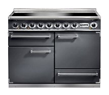 Piano de cuisson induction Falcon PKR DELUX110 INDUC ARDOISE/CHROME