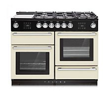 Piano de cuisson gaz Falcon  NEXUS STEAM 110 CM IVOIRE/CHROME