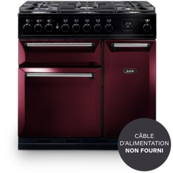 AGA MASTER CHEF DELUXE 90 DF ROUGE AIRELLE