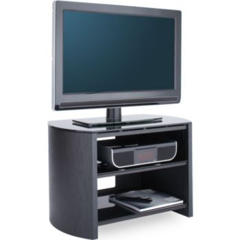 alphason finewoods 3 tag res noir 750 meuble tv boulanger. Black Bedroom Furniture Sets. Home Design Ideas