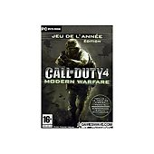 Jeu PC Activision Call of Duty 4 Goty