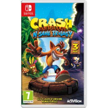 jeu switch activision crash bandicoot n sane trilogy