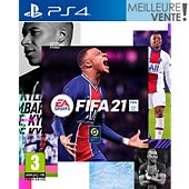 Jeu PS4 Electronic Arts FIFA 21 Version PS5 incluse
