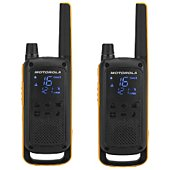 Talkie walkie Motorola T82 Extreme Twin Noir/Jaune
