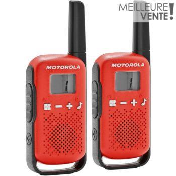 Motorola TLKR-T42 WE TWIN PACK rouge