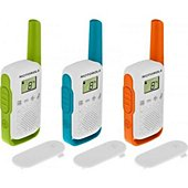 Talkie walkie Motorola TLKR-T42 WE TRI PACK
