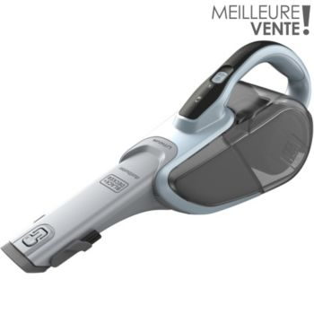 aspirateur main black et decker dvj325j  dustbuster lithium 10.8v 2.5ah
