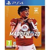 Jeu PS4 Take 2 Madden NFL 20